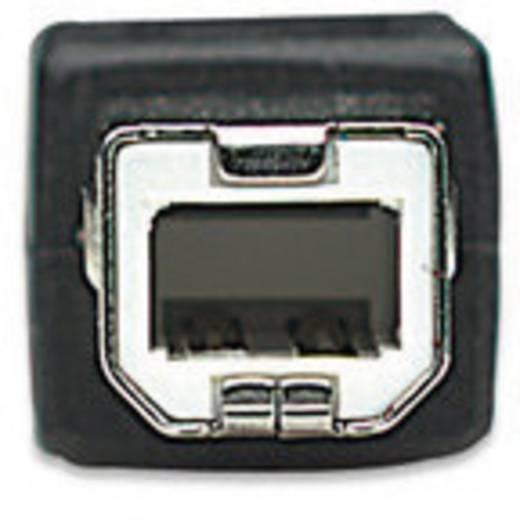 USB 2.0 kábel [1x USB 2.0 dugó A - 1x USB 2.0 dugó B] 1.80 m fekete Manhattan 756612