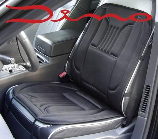 Fűthető üléshuzat autóba, fekete, DINO 130004