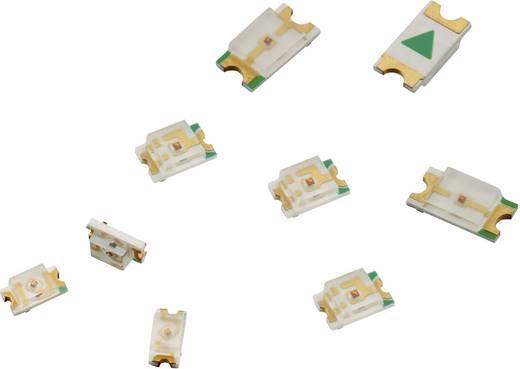 SMD LED 0805 Világoszöld 40 mcd 140 ° 30 mA 2 V Würth Elektronik 150080VS75000