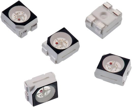 SMD LED, többszínű Piros, Zöld, Kék 270 mcd 120 ° 30 mA 2 V Würth Elektronik 150141M173100