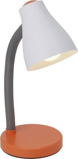 Álló asztali lámpa E27 11 W, fehér/narancs, Brilliant Borgo 92931/77