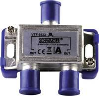Schwaiger VTF8822 Kábel TV elosztó 2 részes 5 - 1000 MHz Schwaiger