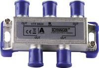 Schwaiger VTF8824 Kábel TV elosztó 4 részes 5 - 1000 MHz Schwaiger