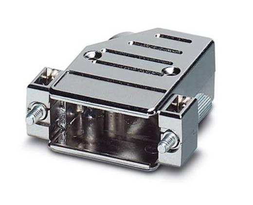 D-SUB doboz, műanyag, fémes, 180° ezüst Phoenix Contact VS-15-T-20-1-S-A 1 db