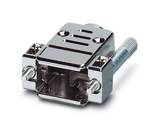 D-SUB doboz, műanyag, fémes, 180° ezüst Phoenix Contact VS-09-T-20-1-S-S 1 db
