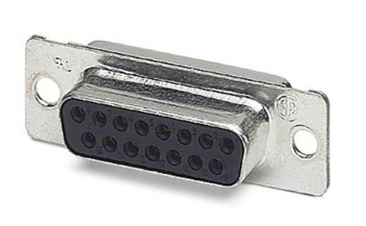 D-SUB hüvelyes kapocsléc 180 ° pólusszám: 15 Phoenix Contact VS-15-BU-DSUB-EG 10 db