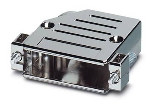 D-SUB doboz, műanyag, fémes, 180° ezüst Phoenix Contact VS-25-T-20-1-S-A 1 db