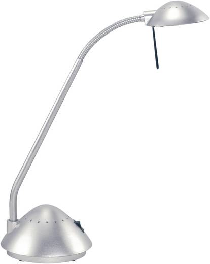 MAUL halogén asztali lámpa ARC II ezüst