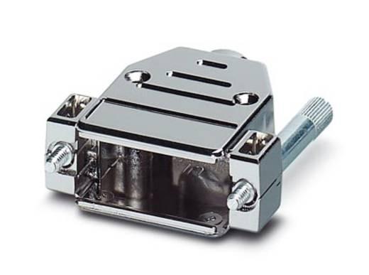 D-SUB doboz, műanyag, fémes, 180° ezüst Phoenix Contact VS-15-T-20-1-S-S 1 db