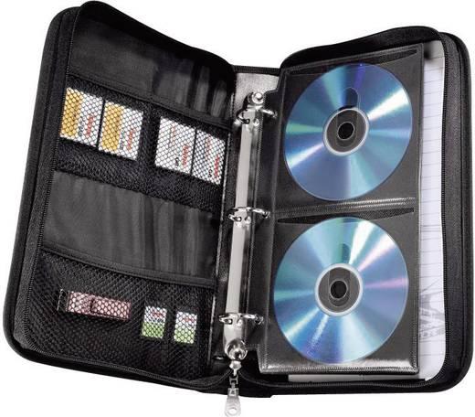 Irodai tároló 64 db CD/DVD számára Hama 84145