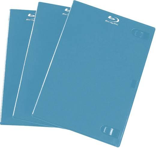 BLU-RAY üres tokok, kék, 3 db, Hama 51349