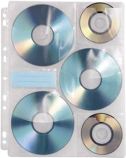 Lefűzhető CD tartó tok 10db CD, DVD számára Hama 49835