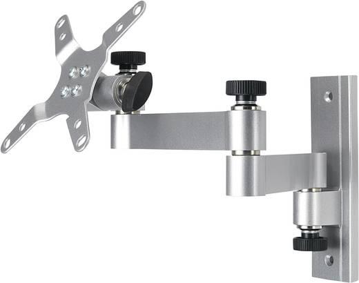 Teleszkópos TFT/LCD fali tartó, 33-76 cm-es (13 - 30) ezüst
