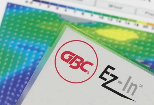 GBC HeatSeal fényes lamináló fólia, 80x111 mm (A7), 2x125 mikron vastagságú, 100 ív/csomag, GBC IB581076