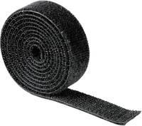 Kábelkötegelő tépőzár, univerzális, fekete, Hama Hama