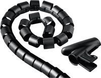 Kábelkötöző, 20 mm, fekete, Hama Easy Cover Hama