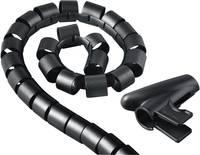 Kábelkötöző, 30 mm, fekete, Hama Easy Cover Hama