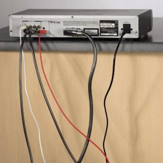 Kábelrögzítők, fekete, 10 db, Hama Easy Clip