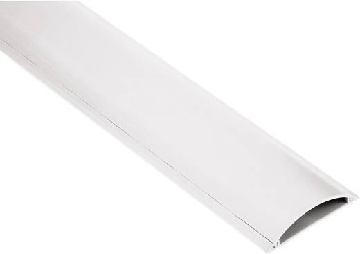 Kábelvezető csatorna, félkör, 1 m/2,1 cm, fehér, Hama