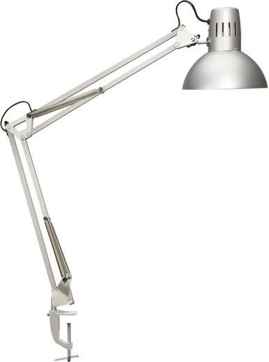 Asztali lámpa, MAULstudy Maul 8230595, E27 (max. 60 W-os izzó), ezüst