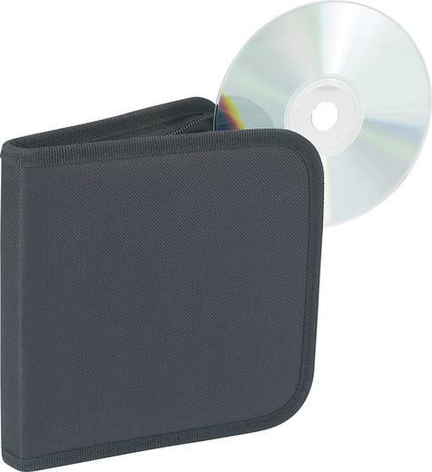 CD-táska 12 CD-DVD tárolására