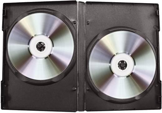Dupla DVD tartó box fekete