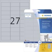 Etikettek, A4, 63,5 x 29,6 mm, 675 db, Herma 4222 (4222) Herma