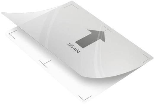 GBC HeatSeal HighSpeed Pouch fényes lamináló fólia, 216x303 mm (A4), 2x125 mikron vastagságú, 100 ív/csomag, GBC 3747348