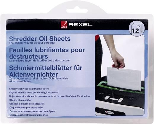 Olajozólapok iratmegsemmisítőhöz Rexel Öl-Blätter 12 db