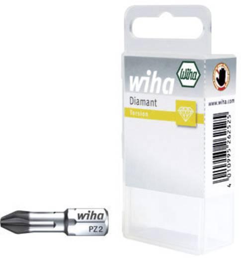 Wiha Pozidriv bitek 25 mm, műanyag dobozban 22115 Pozidriv