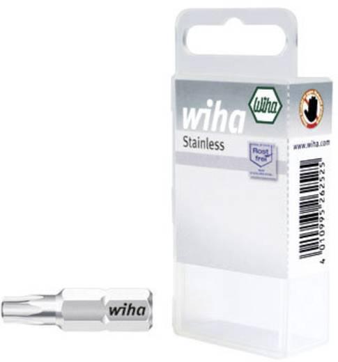 TORX® bitek 25 mm, műanyag dobozban Wiha 34493