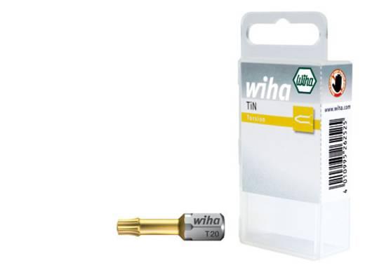 TORX® bitek 25 mm, műanyag dobozban Wiha 34750