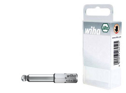 Edzett króm vanádium acél hatlapú gömbfejű BIT készlet, 3mm, 4mm, 5mm Wiha 22653