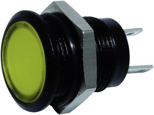 LED-es jelzőlámpa Sárga 24 V/DC Signal Construct SKED12114