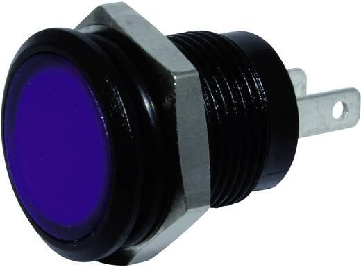 LED-es jelzőlámpa Kék 24 V/DC Signal Construct SKED12414