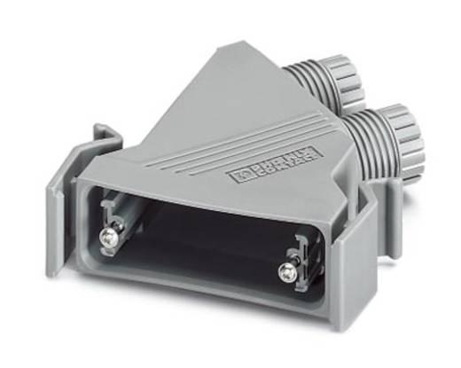 D-SUB doboz, műanyag, fémes, 180° ezüst Phoenix Contact VS-25-T-2M20 5 db