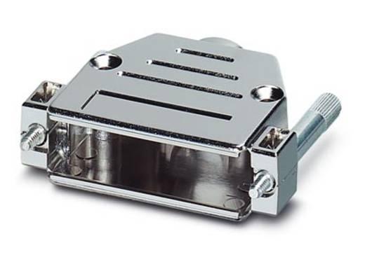 D-SUB doboz, műanyag, fémes, 180° ezüst Phoenix Contact VS-25-T-20-1-S-S 1 db