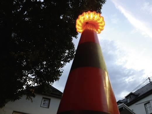 Körkörös lámpa 16 LED 12 V, 24 V, 230 V Akk