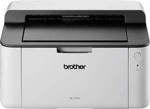 Fekete/fehér lézernyomtató, USB, 2400 x 600 dpi, max 20 lap/mp, Brother HL-1110G1 Brother