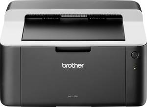 Fekete/fehér lézernyomtató, USB, 2400 x 600 dpi, max 20 lap/mp, Brother HL-1112G1 Brother