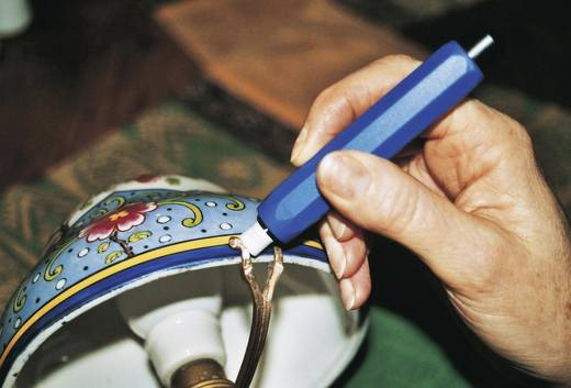 Üvegszálas tisztítóecset nyéllel, Ø 8 mm, RONA 450570