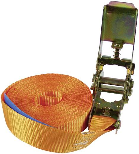 Racsnis rögzítő heveder 5 m x 25 mm, 250/500 kg, Alpin 60034