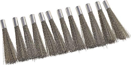 Tartalék ecset (acéldrót) üvegszálas radírhoz 12 részes csomag Ø 4 mm