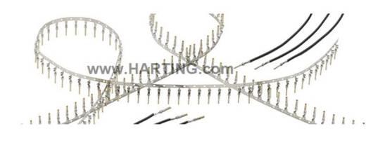 Stift érintkező AWG min.: 24, max.: 20 vörösréz ötvözet ezüstörve 6.5 A, Harting 09 67 000 8178, 500 db