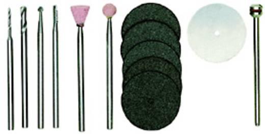 Proxxon Micromot 28910 13db-os modellező készlet, vegyes tartozékú csiszoló, vágó, maró, fúró készlet