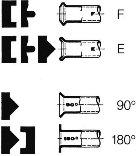 Csőperemező készlet, 12 részes, Hazet 2191/12K