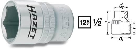 6 lapú dugókulcsfej, belső négyszög 12,5 mm (1/2), Hazet 900-8
