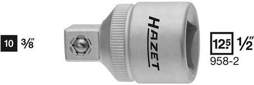 Adapter belsőnégyszögről 12,5 mm (1/2) külső négyszögre 10 mm (3/8), Hazet 958-2