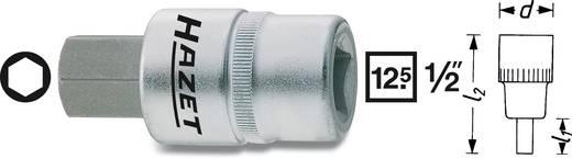 Hatlapú csavarhúzófej belső hatszögű csavarokhoz 6 mm, belső négyszög 12,5 mm (1/2), Hazet 986-6