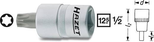 Torx csavarhúzófej belső torx csavarokhoz T45, belső négyszög 12,5 mm (1/2), Hazet 992-T45